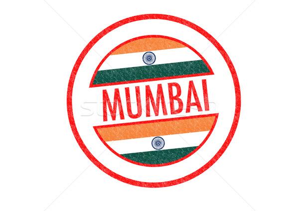 Mumbai Índia branco indiano férias Foto stock © chrisdorney