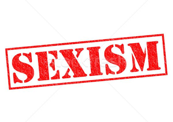 SEXISM Stock photo © chrisdorney