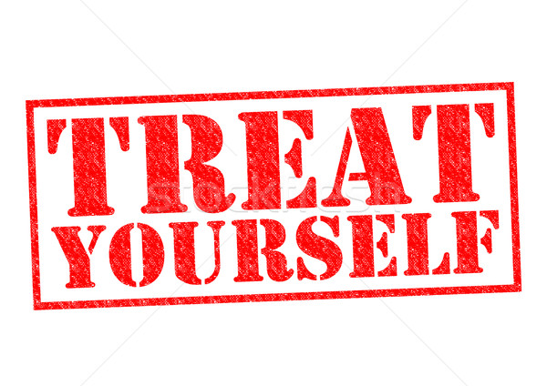 TREAT YOURSELF Stock photo © chrisdorney