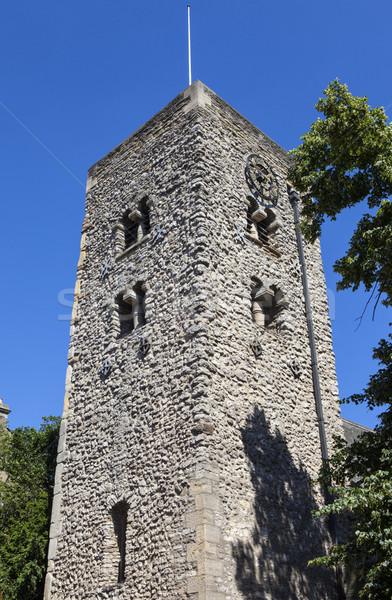 Norte puerta oxford vista histórico ciudad Foto stock © chrisdorney