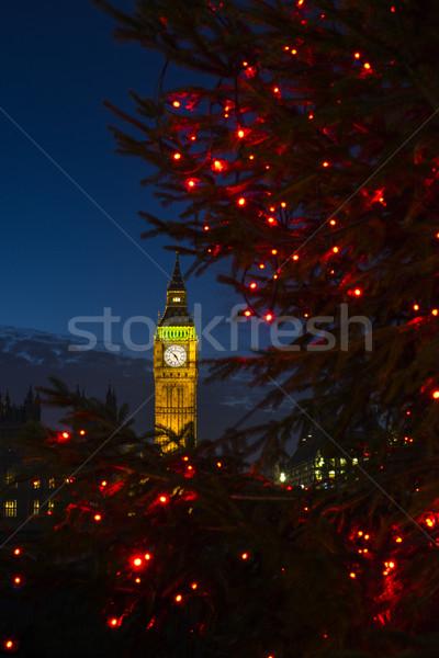 Big Ben at Christmas Stock photo © chrisdorney