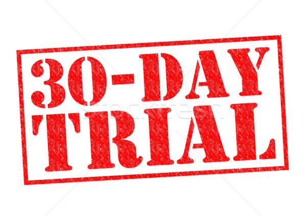30 DAY FREE TRIAL Stock photo © chrisdorney