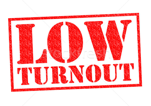 LOW TURNOUT Stock photo © chrisdorney
