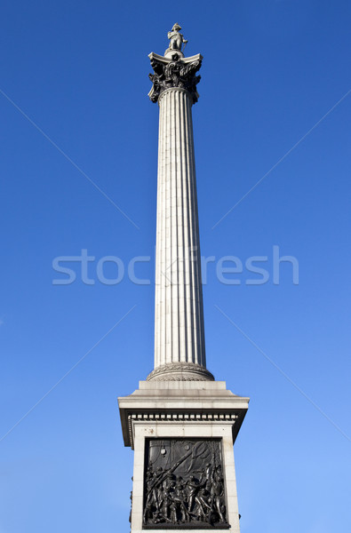 Nelson's Column in London Stock photo © chrisdorney