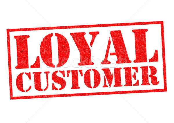 LOYAL CUSTOMER Stock photo © chrisdorney