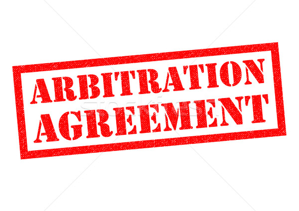 ARBITRATION AGREEMENT Stock photo © chrisdorney