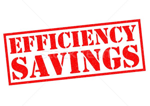 EFFICIENCY SAVINGS Stock photo © chrisdorney