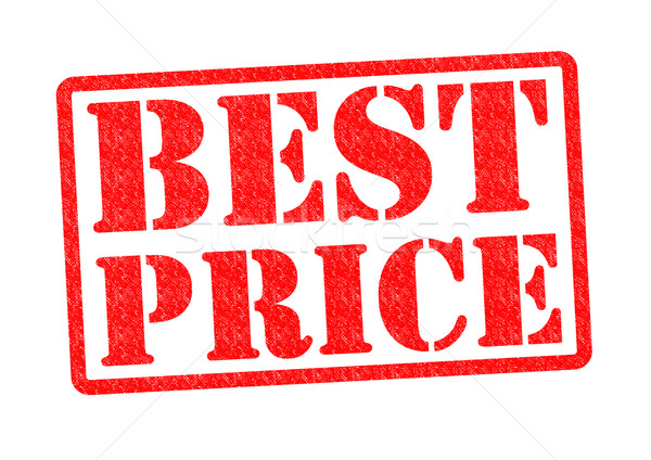 Mejor precio blanco compras financiar sello Foto stock © chrisdorney