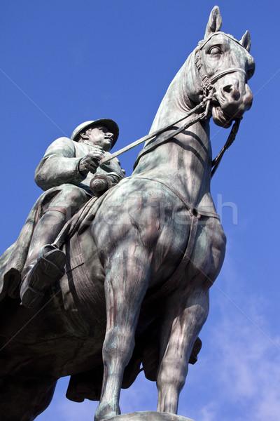King Albert I Statue in Paris Stock photo © chrisdorney
