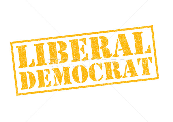 LIBERAL DEMOCRAT Stock photo © chrisdorney
