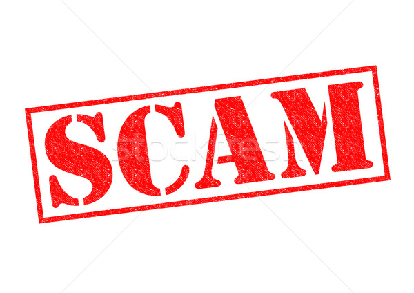 SCAM Rubber Stamp Stock photo © chrisdorney