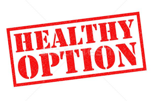 HEALTHY OPTION Stock photo © chrisdorney