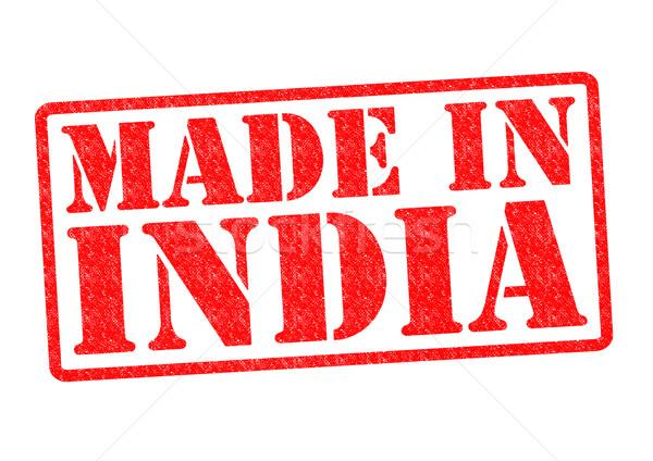 Indie biały czerwony indian budować Zdjęcia stock © chrisdorney