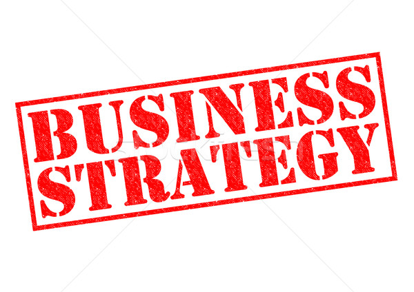 BUSINESS STRATEGY Stock photo © chrisdorney