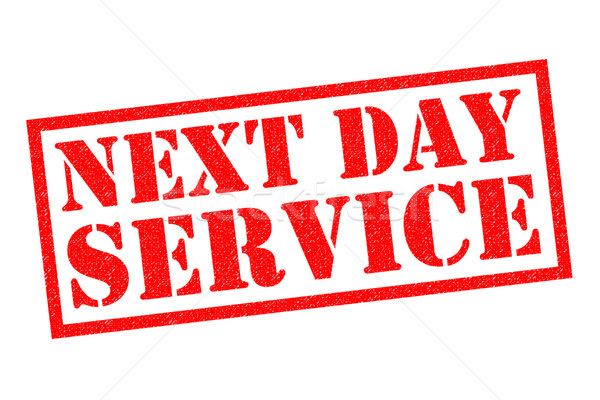 Stock photo: NEXT DAY SERVICE