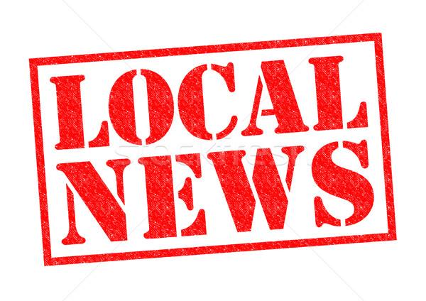 LOCAL NEWS Stock photo © chrisdorney
