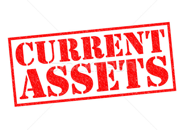 CURRENT ASSETS Stock photo © chrisdorney