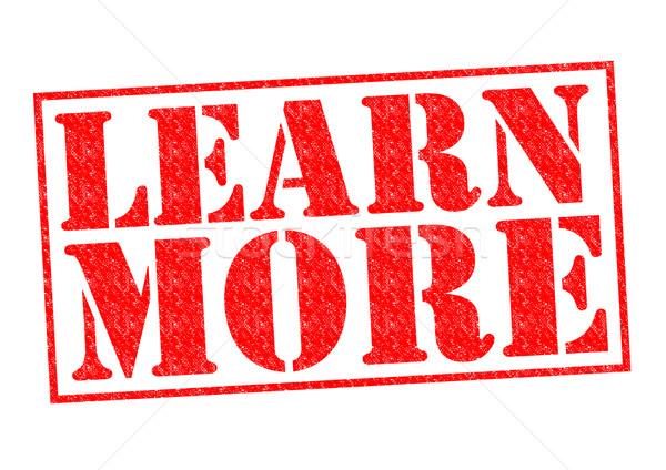 LEARN MORE Stock photo © chrisdorney