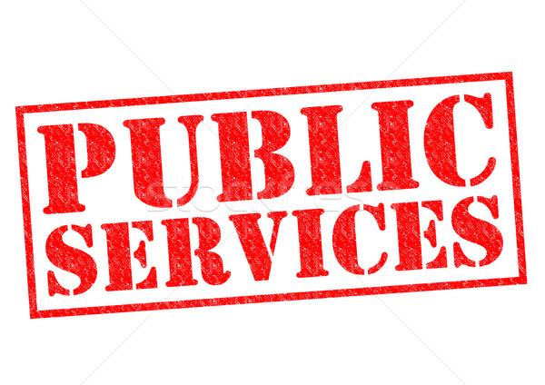 PUBLIC SERVICES Stock photo © chrisdorney