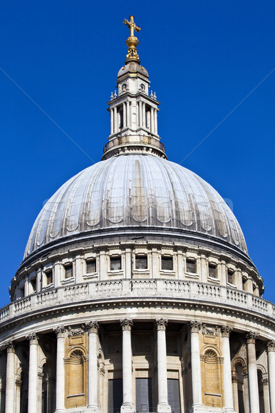 St. Paul's Cathedral in London Stock photo © chrisdorney