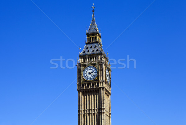 Big Ben (Houses of Parliament) in London Stock photo © chrisdorney