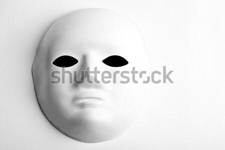 Máscara olhos arte teatro cartão cultura Foto stock © chrisdorney
