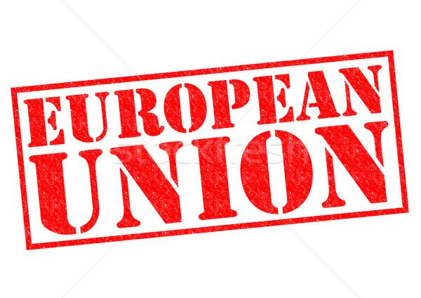 Europeu união branco viajar vermelho Foto stock © chrisdorney