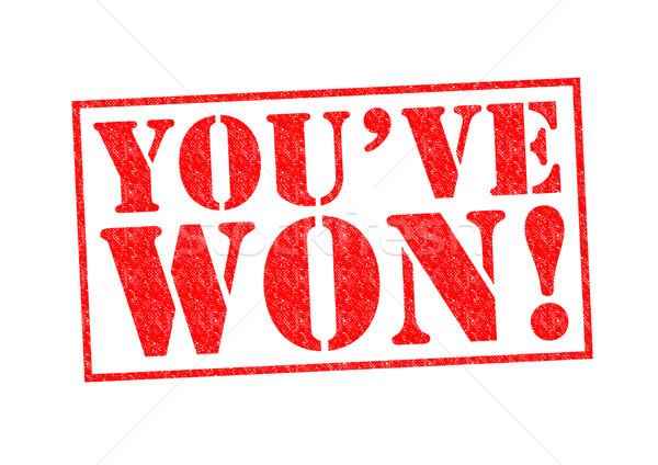 YOU'VE WON! Stock photo © chrisdorney