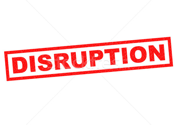 DISRUPTION Stock photo © chrisdorney