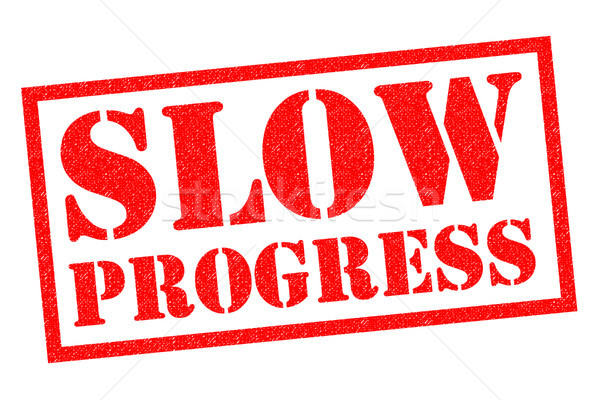SLOW PROGRESS Stock photo © chrisdorney