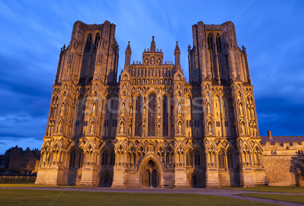 Wells Cathedral in Somerset Stock photo © chrisdorney