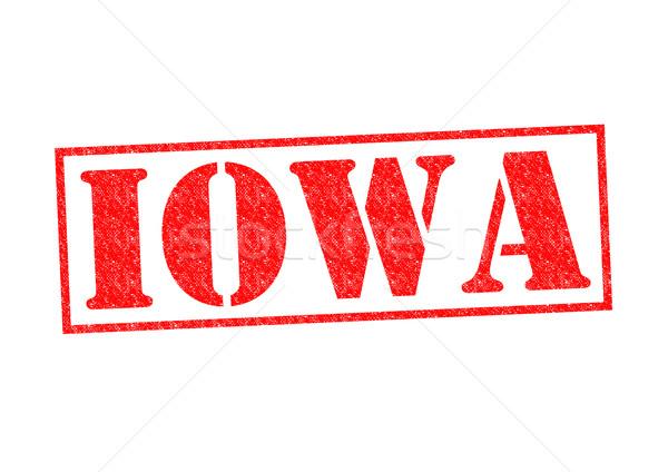 Айова белый город кнопки культура Сток-фото © chrisdorney