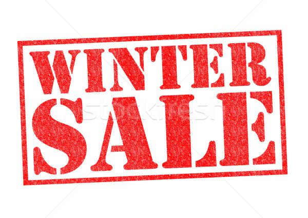 WINTER SALE Stock photo © chrisdorney