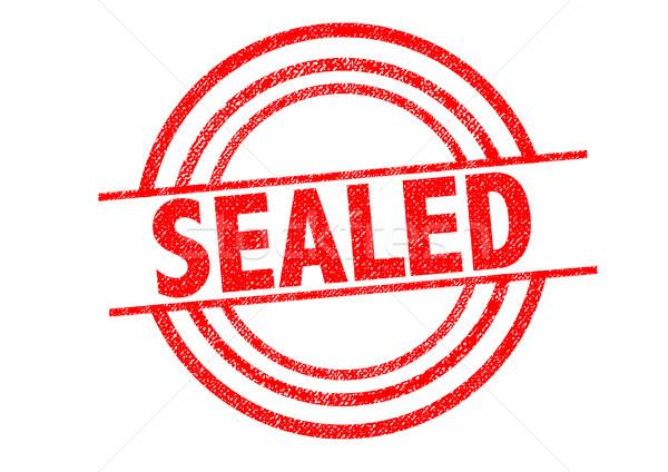 SEALED Rubber Stamp Stock photo © chrisdorney