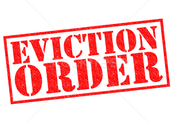EVICTION ORDER Stock photo © chrisdorney