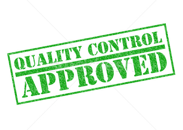 QUALITY CONTROL APPROVED Stock photo © chrisdorney