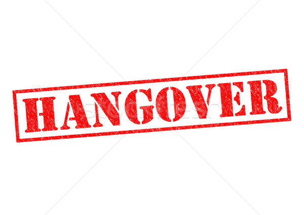 HANGOVER Stock photo © chrisdorney