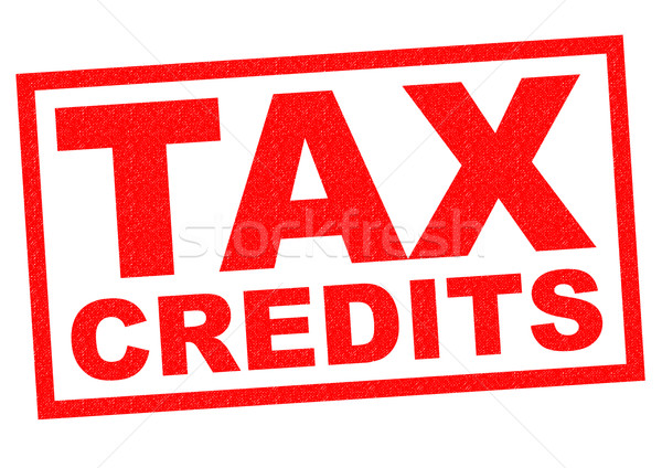 TAX CREDITS Stock photo © chrisdorney