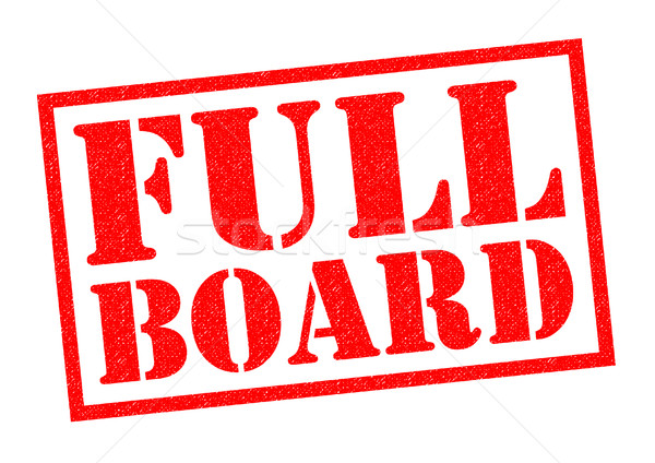FULL BOARD Stock photo © chrisdorney