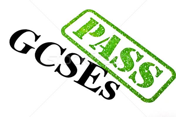 GCSEs PASSED Stock photo © chrisdorney