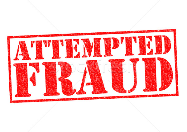 ATTEMPTED FRAUD Stock photo © chrisdorney