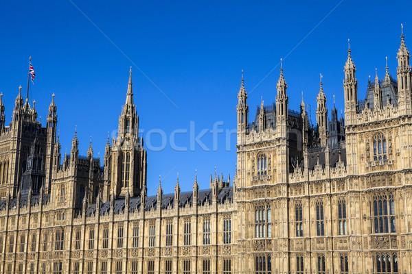 Palácio westminster Londres impressionante arquitetura Foto stock © chrisdorney