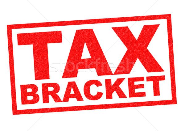 TAX BRACKET Stock photo © chrisdorney