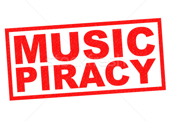 MUSIC PIRACY Stock photo © chrisdorney