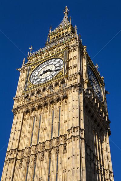 Big Ben Londres magnífico arquitetura rainha Foto stock © chrisdorney