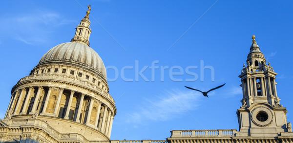 Catedral Londres cúpula uno ciudad Foto stock © chrisdorney