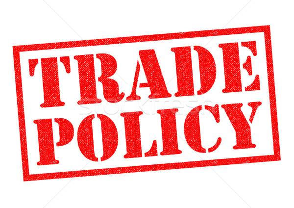Kereskedelem irányvonal piros pecsét fehér szabad Stock fotó © chrisdorney