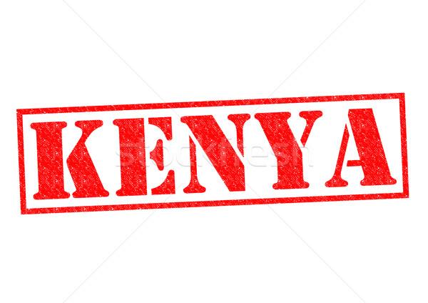 Kenya pecsét fehér Afrika vakáció gomb Stock fotó © chrisdorney