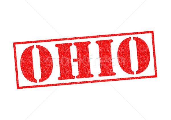 Ohio beyaz şehir düğme kültür Stok fotoğraf © chrisdorney
