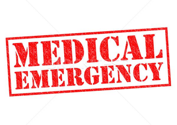 MEDICAL EMERGENCY Stock photo © chrisdorney